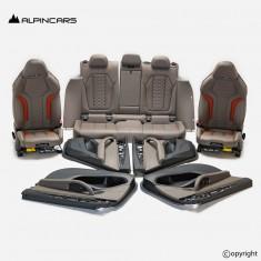 BMW F98 X4M G02 M Seats Interior Leather Merino Adelaide Grey