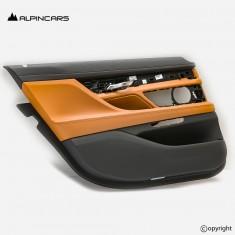 BMW 7er G12 LCI tapicerka drzwi lewy tył cognac
