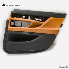 BMW 7er G12 LCI tapicerka drzwi prawy tył cognac