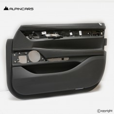 BMW G11 G12 LCI door panel Leather nappa black