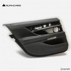 BMW G12 tapicerka drzwi lewy tył czarna nappa