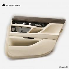 BMW 7  G12 tapicerka drzwi prawy tył elfenbein