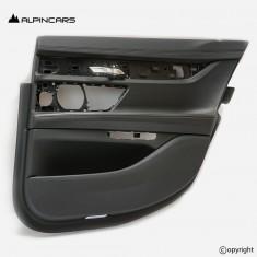 BMW 7 G12 door panel Leather nappa black