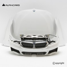 BMW 6ER G32 M front  package Mineral Weiss A96