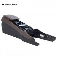 BMW F15 X5 F16 X6  armrest center console Leather Mokka
