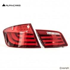 BMW  5ER F10 F18 Original lights left rear SET  7203229 7203225 ECE