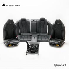 BMW F93 M8 G16 Gran Coupe tapicerka fotele środek