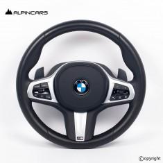 BMW G30 G32 G14 G15 G05 G07 LCI ORIGINAL PADDLES STEERING WHEEL  LE29281