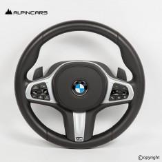 BMW G01 G02 G08 LCI ORIGINAL PADDLES STEERING WHEEL  9C09019