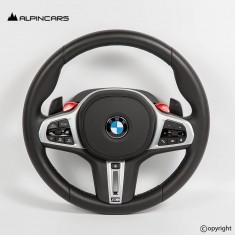BMW  F90 F91 F92 F93 F97 F98 ORIGINAL STEERING WHEEL PADDLES ECE BU63323