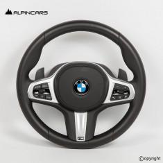 BMW G30 G32 G14 G15 G05 G07 LCI ORIGINAL PADDLES STEERING WHEEL  9C04370