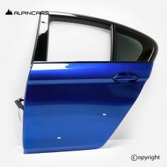 BMW F90 M5 G30 drzwi lewy tył marina bay blue C1K