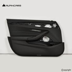 BMW G30 5 door panel Leather dakota black